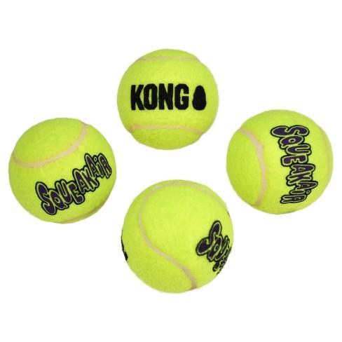 Kong Squeakair Ball Dog Toy Medium 4ct Target