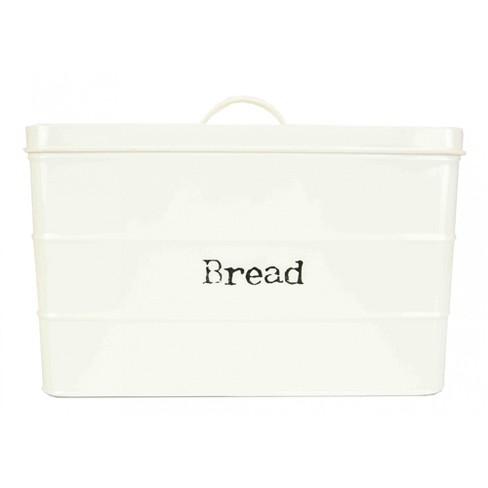 Home Basics Tin Bread Box, Ivory - image 1 of 4