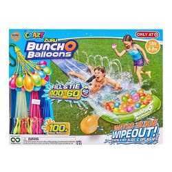 Bunch O Balloons Small Water Slide Wipeout with 3 Bunches of Crazy BOB