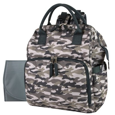 Baby Essentials Camo Frame Backpack - Green