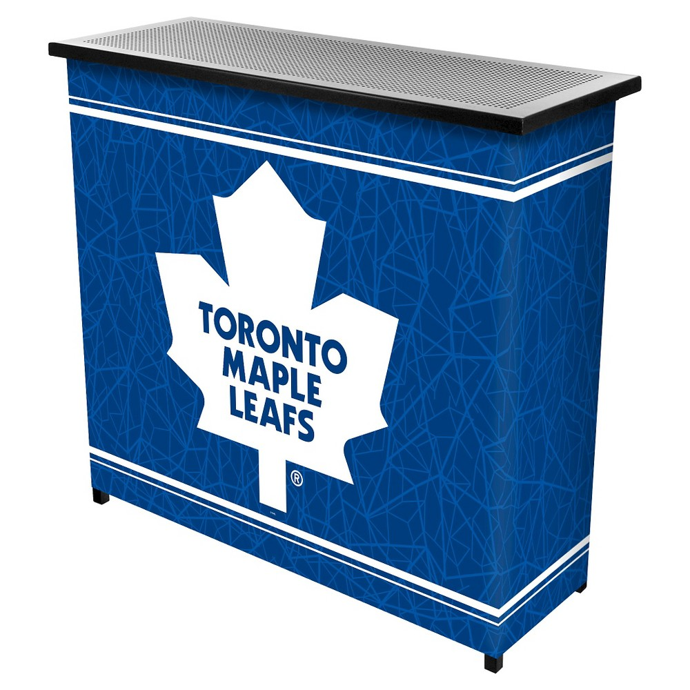 Toronto Maple Leafs 2 Shelf Portable Bar with Case