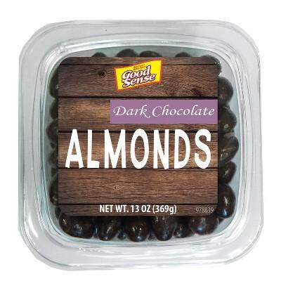 Good Sense Dark Chocolate Almonds - 13oz