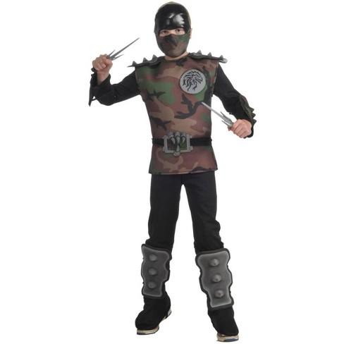 Rubie's Jungle Camouflage Ninja Jumpsuit Costume Child - image 1 of 1