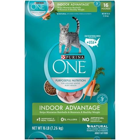 Purina® ONE Indoor Advantage Adult Premium Dry Cat Food - image 1 of 4