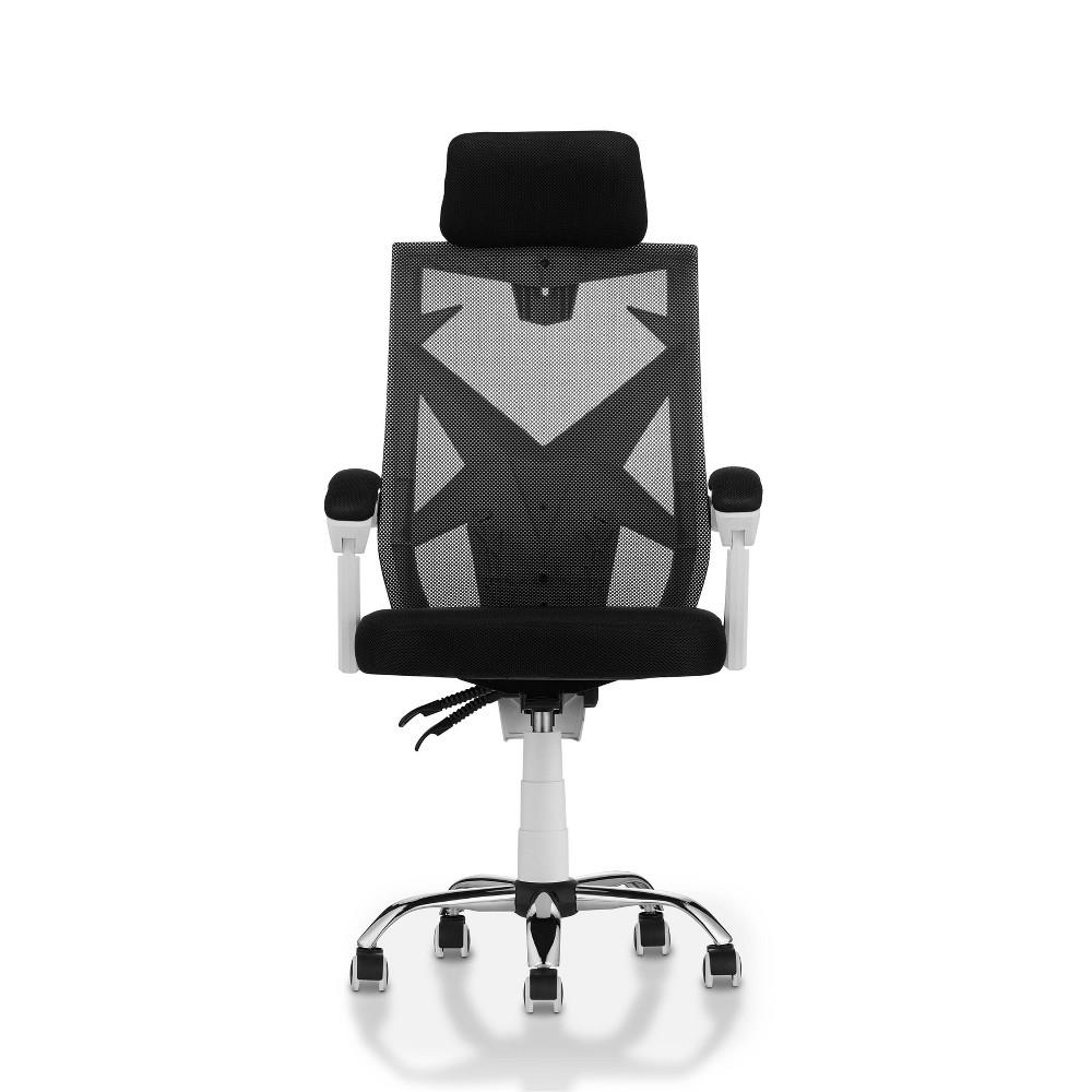 Gibbons Ergonomic Mesh Office Chair Winter White - miBasics