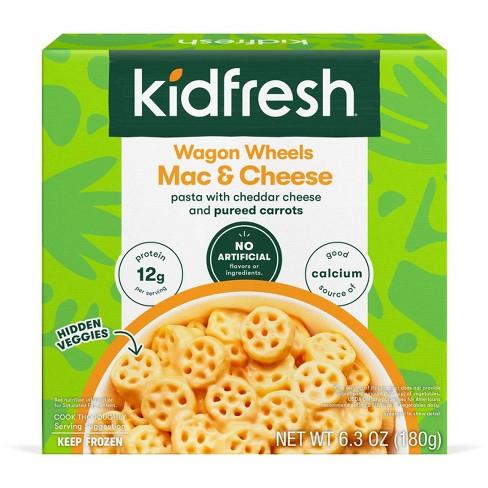 Kidfresh Vegetarian Frozen Frozen Wagon Wheels Mac & Cheese - 6.3oz - image 1 of 4