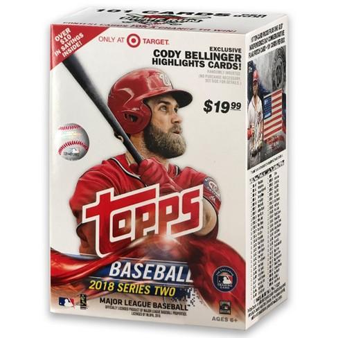2018 Mlb Baseball Trading Card Topps Baseball S2 Full Box