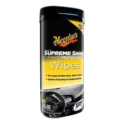 Meguiars 25ct Supreme Shine Wipes