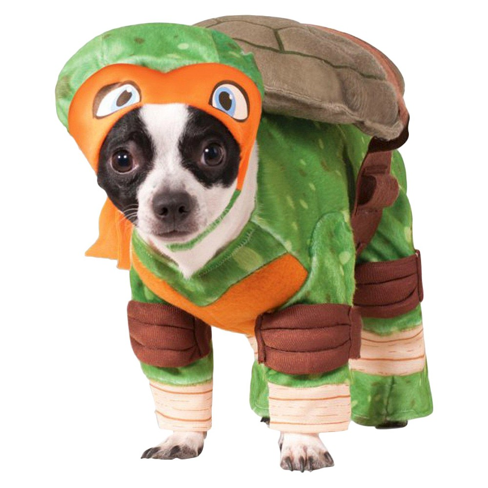 Teenaged Mutant Ninja Turtles Michelangelo Dog Costume, Clear