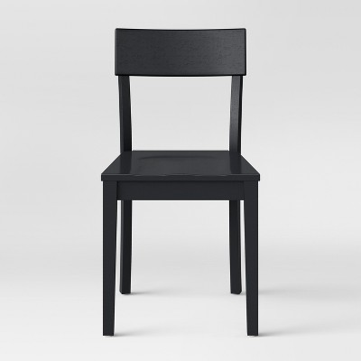Bethesda Modern Dining Chair Black (Set of 2)- Project 62™