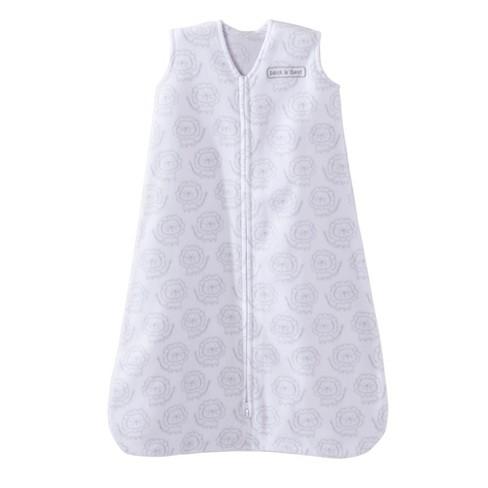 37cd2033ab45 Halo SleepSack Fleece Wearable Blanket - White Lion - M   Target