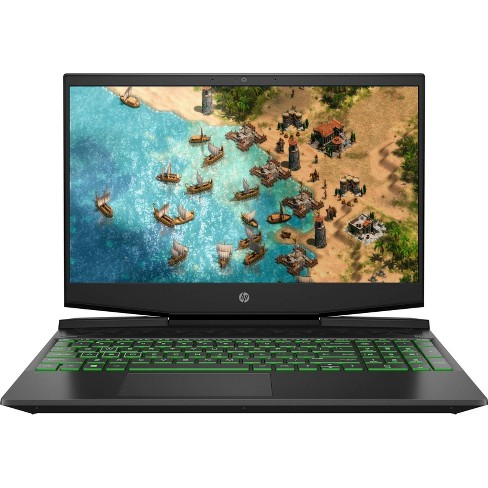 "HP 15.6"" Pavilion Gaming Laptop - Intel Core i5-9300H - Nvidia GeForce GTX 1650 - 8GB RAM - 512 GB SSD -  Windows 10 15-dk0056nr - image 1 of 4"