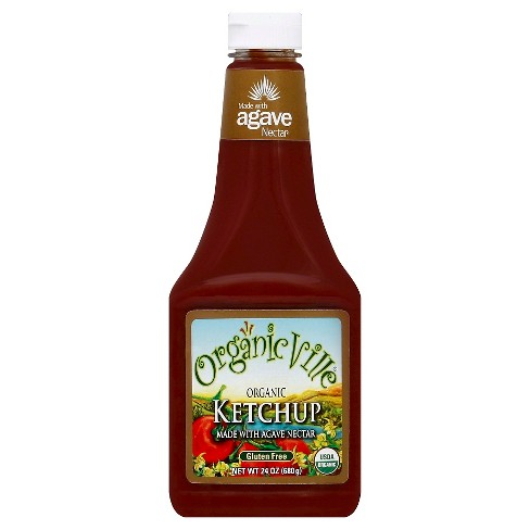 Organicville® Ketchup Made with Agave Nectar - 24oz - image 1 of 1