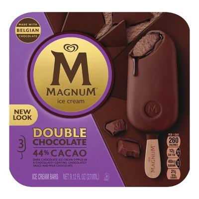 Magnum Double Chocolate Ice Cream Bars - 3ct