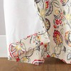 "Jorah Botanical Print Thermal Insulated Grommet Curtain Panel Linen 40""x84"" - Sun Zero - image 3 of 4"
