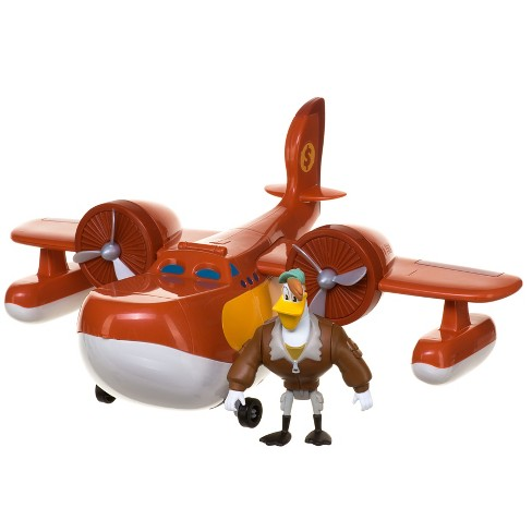 "Duck Tales Sunchaser Airplane with 5"" Figure - image 1 of 5"