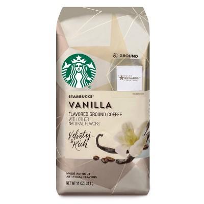 Starbucks Vanilla Flavored Light Roast Ground Coffee - 11oz