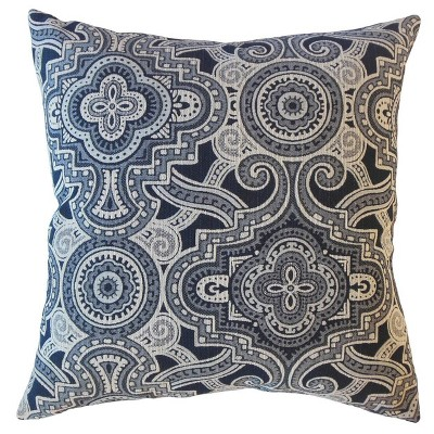 Jacory Geometric Throw Pillow Onyx - The Pillow Collection