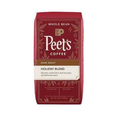 Peet's Whole Bean Holiday Blend Dark Roast Coffee - 10oz