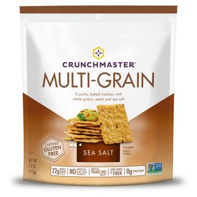Crackers: Crunchmaster Multi-Grain Crackers