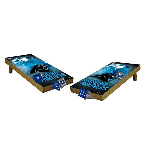 NFL Carolina Panthers Wild Sports Tailgate Toss Cornhole Shields - image 1 of 1
