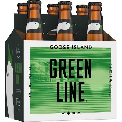 Goose Island Green Line Pale Ale Beer - 6pk/12 fl oz Bottles