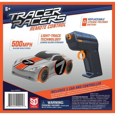 SKULLDUGGERY Tracer Racer RC Car and Controller - Orange