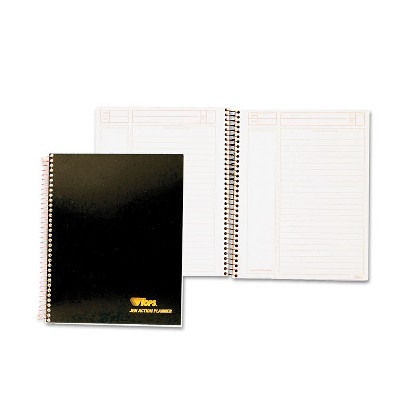 Tops JEN Action Planner Ruled 6 3/4 x 8 1/2 White 84 Sheets 63827