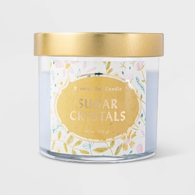 4.1oz Lidded Glass Jar Sugar Crystals Candle - Opalhouse™