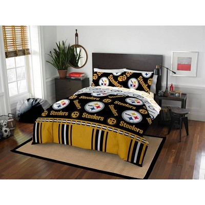NFL Pittsburgh Steelers Rotary Bed Set