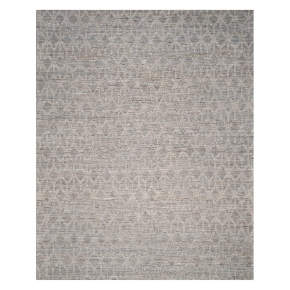 Tribal Design Area Rug Gray/Gold