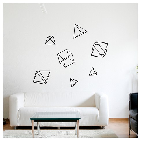 Hornstull Wall Decal - Black - image 1 of 1