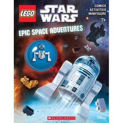 Epic Space Adventures (Lego Star Wars: Activity Book with Minifigure) - by  Ameet Studio (Mixed Media Product)