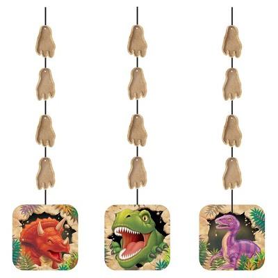 3ct Dino Hanging Cutouts