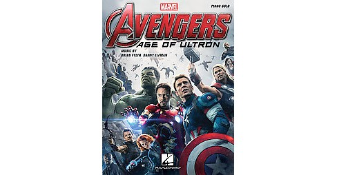 Avengers Age of Ultron : Music from the Motion Picture Soundtrack: Piano Solo (Paperback) - image 1 of 1