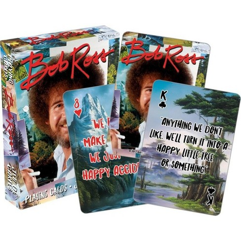 NMR Distribution Bob Ross Quotes Multi-Image Playing Cards, Deck of 52 - image 1 of 1