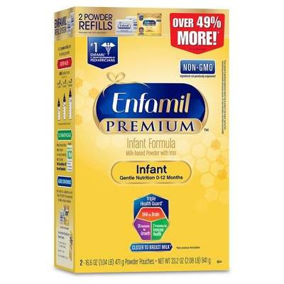 Enfamil Premium Infant Formula Powder Refill Box - 33.2oz