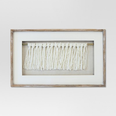 Framed Knots Decorative Wall Sculpture 20.25 X 12.25 - Project 62™