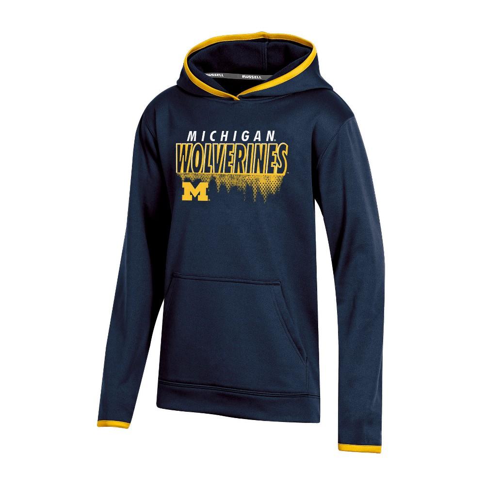 Michigan Wolverines Boys' Performance Hoodie - M, Multicolored