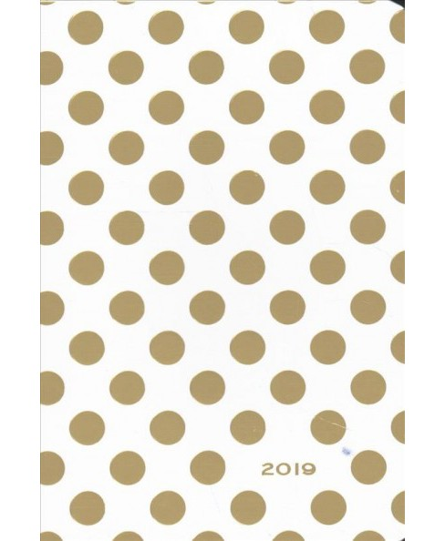 Gold Dots Weekly Planner 2019 Calendar -  (Hardcover) - image 1 of 1