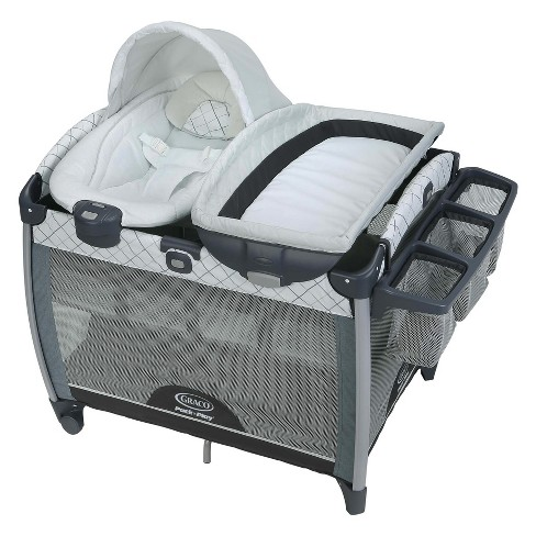 Graco Pack 'n Play Quick Connect Portable Bouncer with Bassinet - Whitmore - image 1 of 4