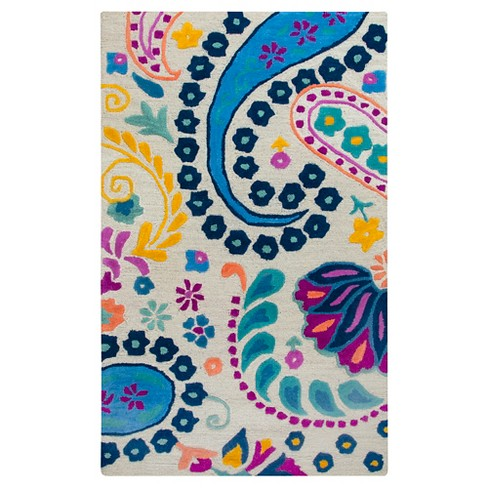 Paisley Area Rug (3'x5') - Rizzy Home - image 1 of 3