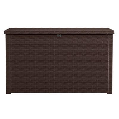 230Gal Java Outdoor Resin Storage Deck Box Brown - Keter
