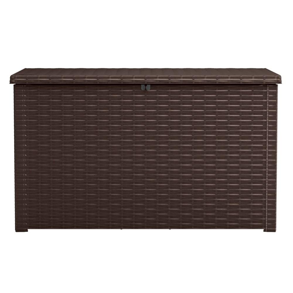 Image of 230Gal Java Outdoor Resin Storage Deck Box Brown - Keter