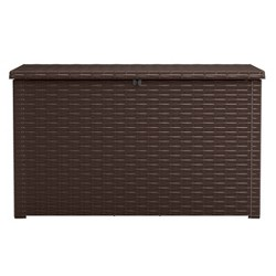 230Gal Java Outdoor Resin Storage Deck Box Brown - Keter