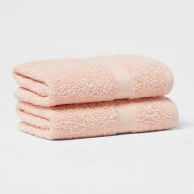 2pk Hand Towel Set Light Peach - Room Essentials™
