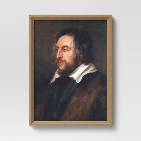"12"" x 16"" Vintage Rubens Gentleman Framed Board - Threshold™ - image 1 of 4"