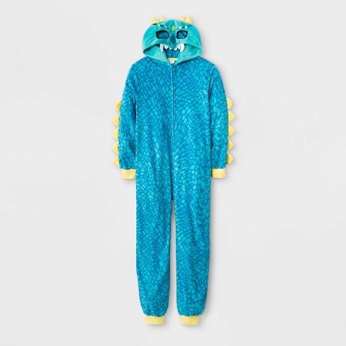 Boys Sonic The Hedgehog Union Suit Pajamas Sleepwear