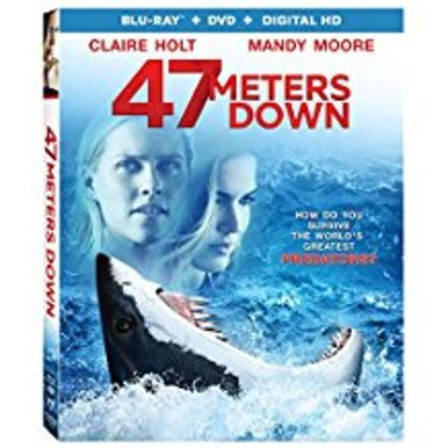 47 Meters Down (Blu-ray + DVD + Digital)