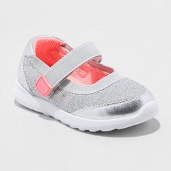 ecf1e86594e1 Toddler Girls' Eva Canvas Adjustable Easy Close Mary Jane Sneakers- Cat &  Jack™